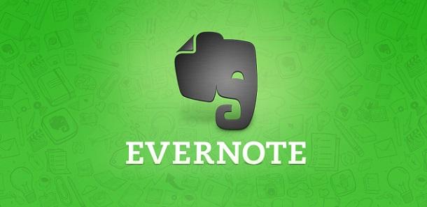 aplicativo evernote